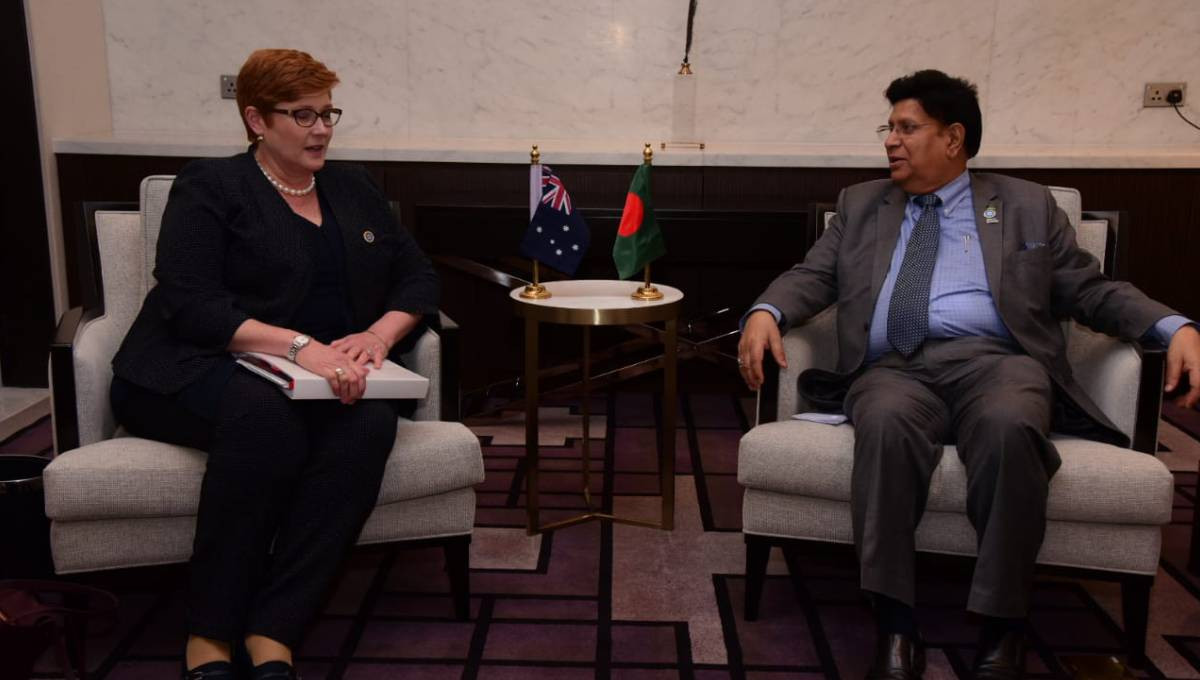 Australia to intensify development cooperation with Bangladesh: Payne