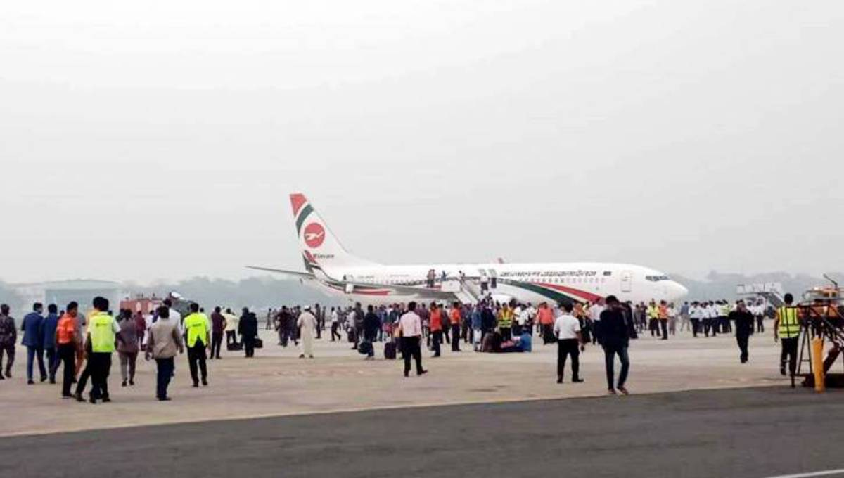 Bid to 'hijack' Biman aircraft foiled; suspected hijacker killed