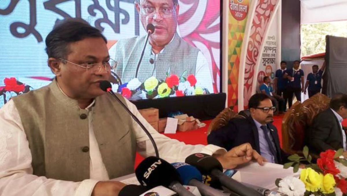 Khaleda not in jail in political cases: Hasan Mahmud