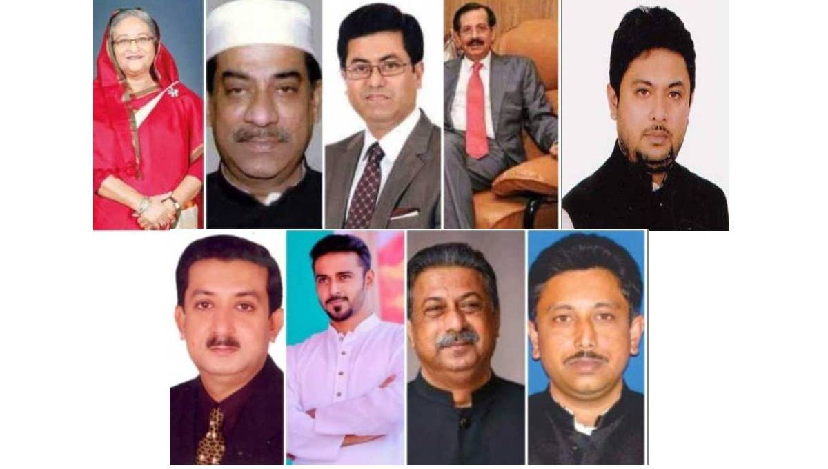 All 9 candidates from Bangabandhu family shine bright in polls