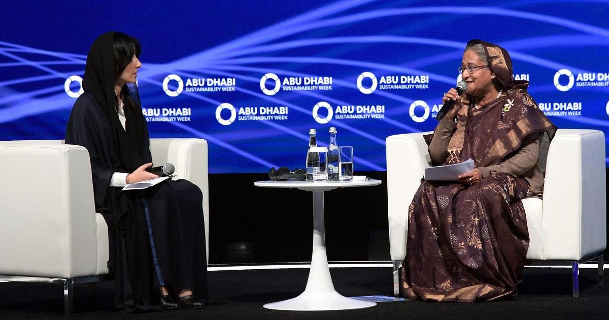 Abu Dhabi ,  UAE ,  Prime Minister Sheikh Hasina ,  Bangladesh