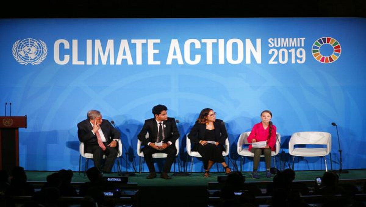 UN chief urges action to make Earth carbon neutral by 2050