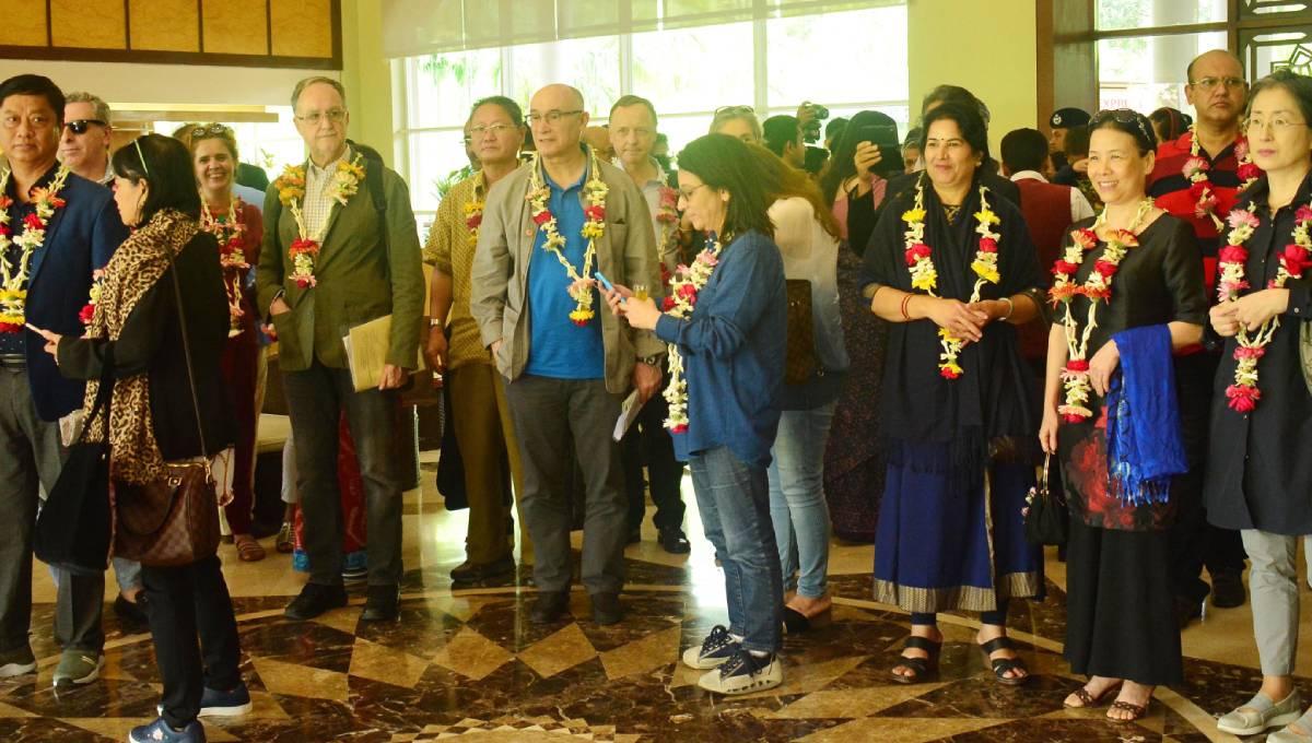 Diplomats exploring Sreemangal's beauty