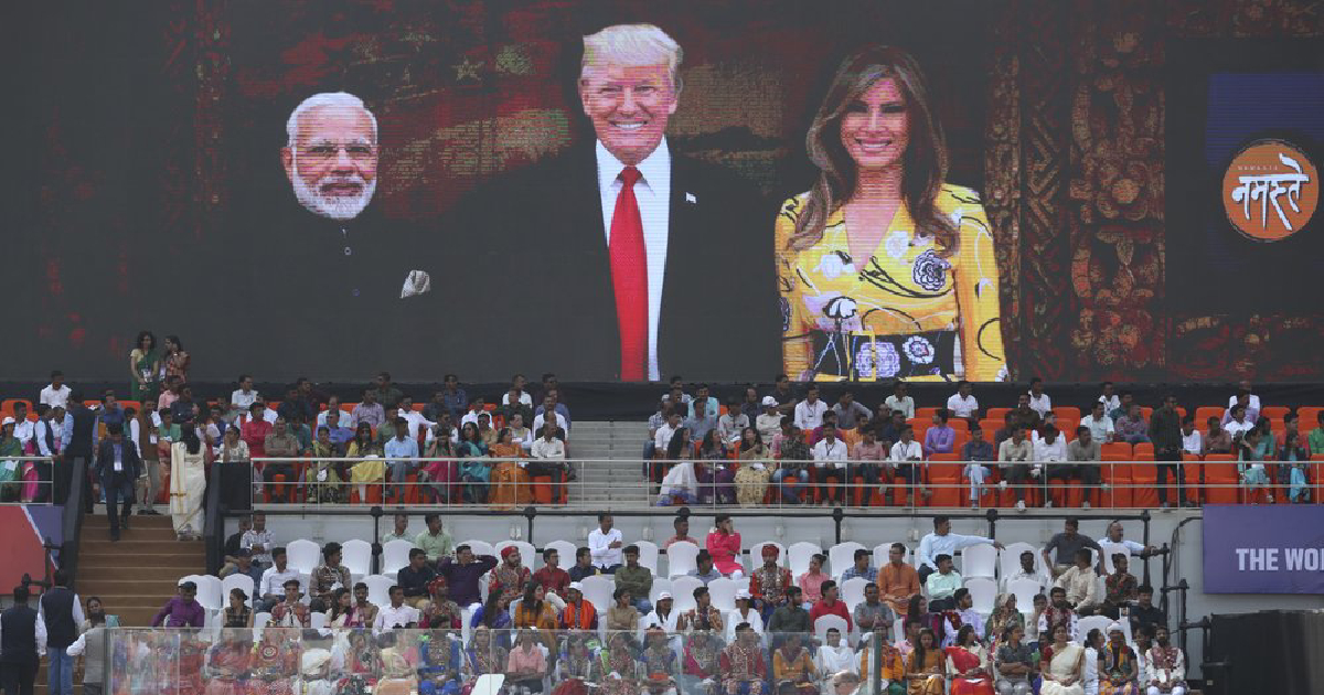 re-election year ,  36-hour visit to India ,  warm welcome ,  trump ,  India