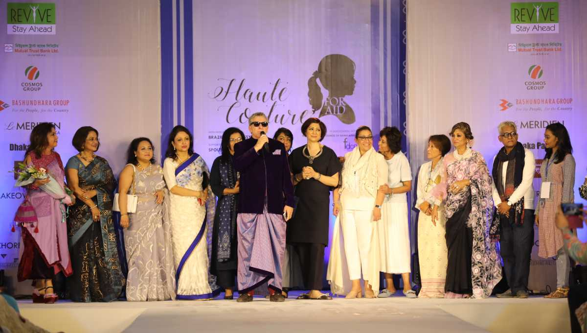 Haute Couture Ambassadors Spouses Walk The Ramp For Charity
