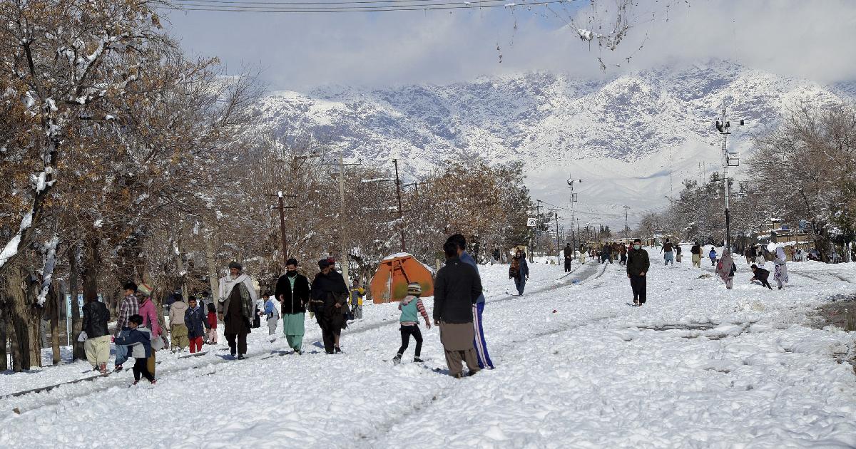 winter storms ,  Pakistan ,  Afghanistan ,  UN