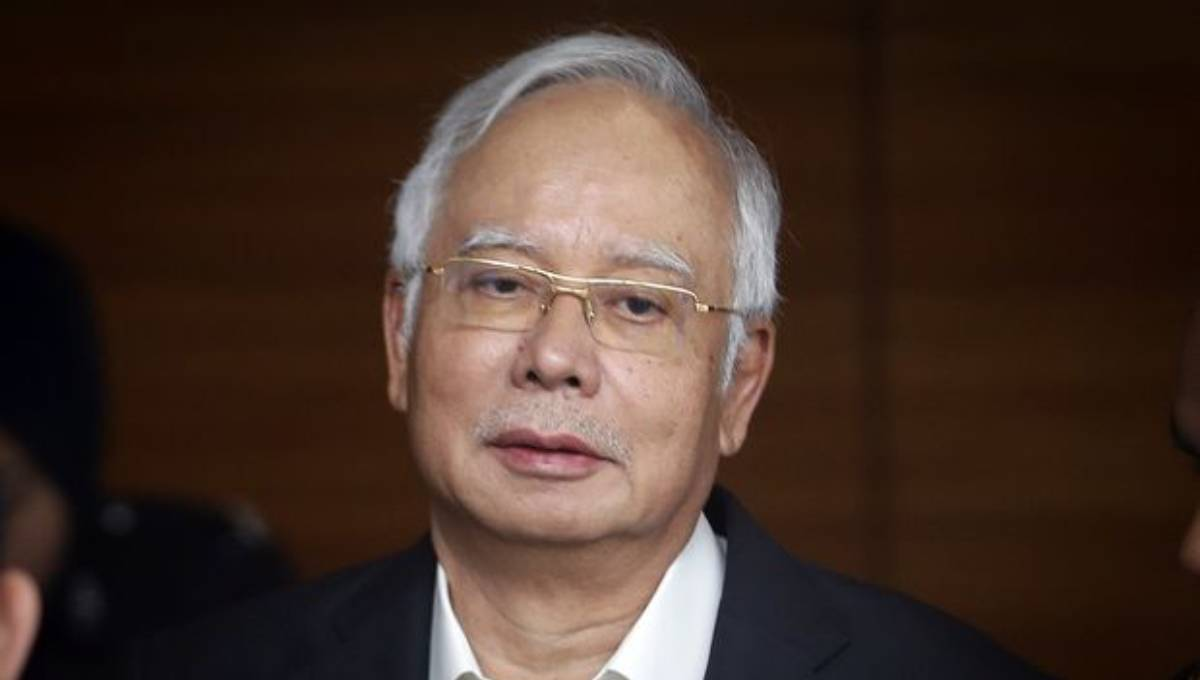 Malaysian ex-PM Najib attends 1st day of graft trial