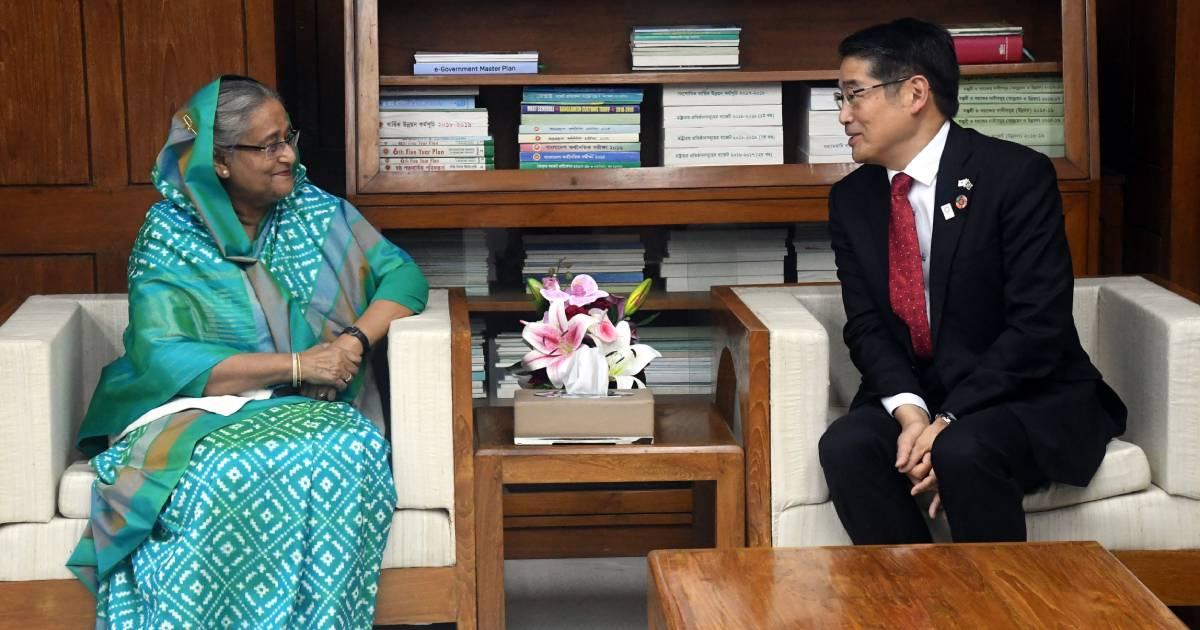 Japanese Ambassador to Bangladesh ,  Naoki Ito ,  Bangladesh role model ,  Japan ,  Prime Minister Sheikh Hasina ,  Rohingya Crisis ,  Foreign Affairs ,  Bangladesh