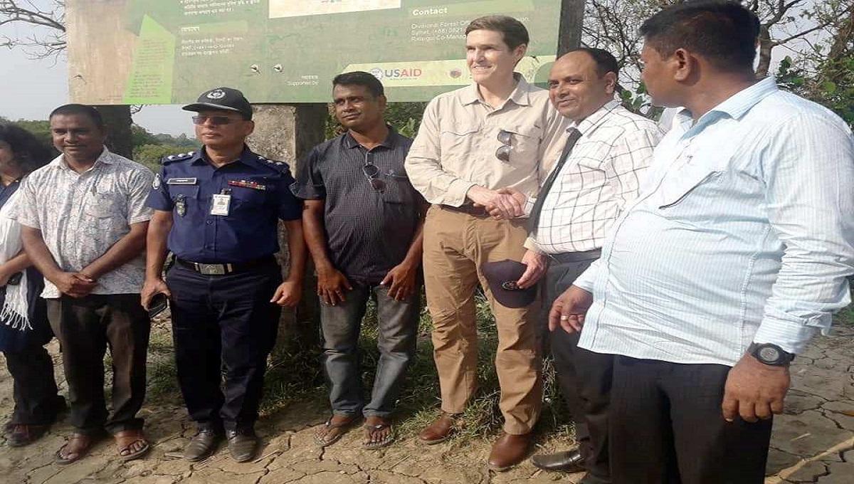 Bangladesh ,  US envoy