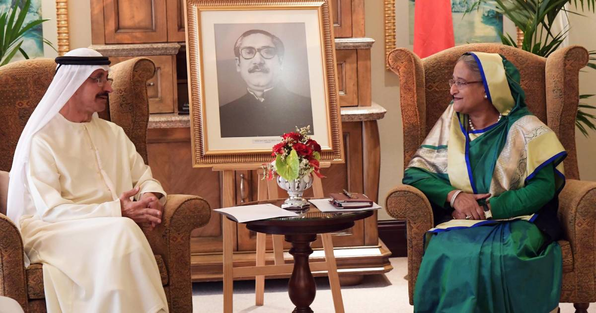 Energy and Mineral Division ,  Emirates National Oil Company ,  DP World ,  Abu Dhabi ,  UAE ,  Foreign Minister Dr AK Abdul Momen ,  Prime Minister Sheikh Hasina ,  Bangladesh