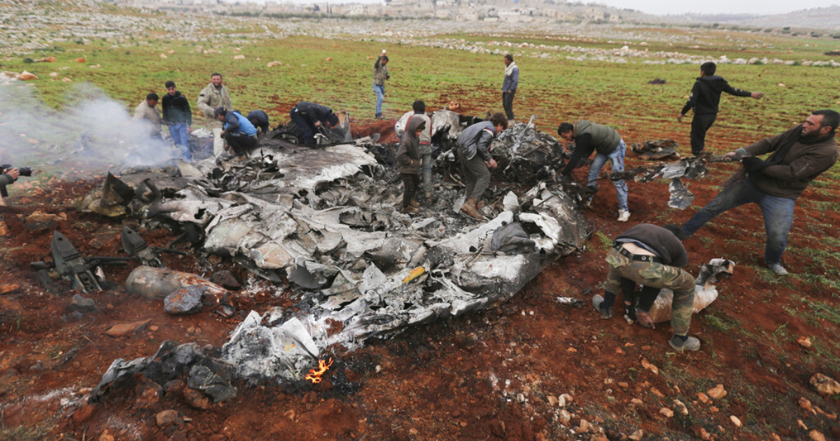 Turkish forces shoot down Syrian helicopter, killing 2 pilots