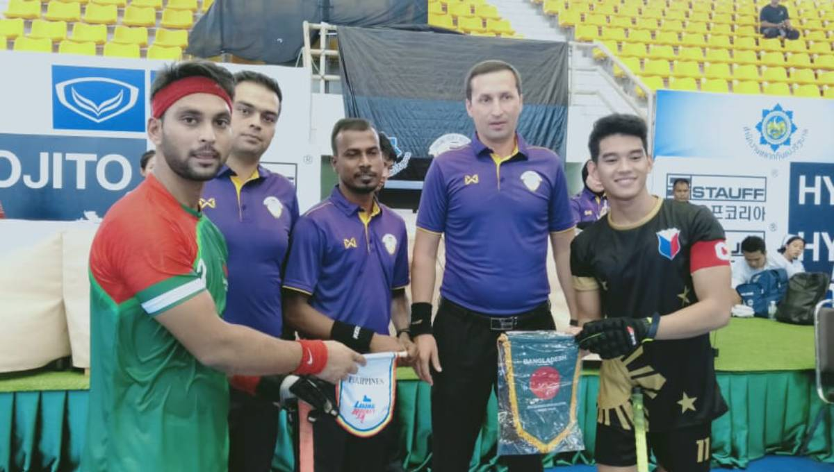 Asian Indoor Hockey: Bangladesh clinch maiden win beating Philippines 9-0