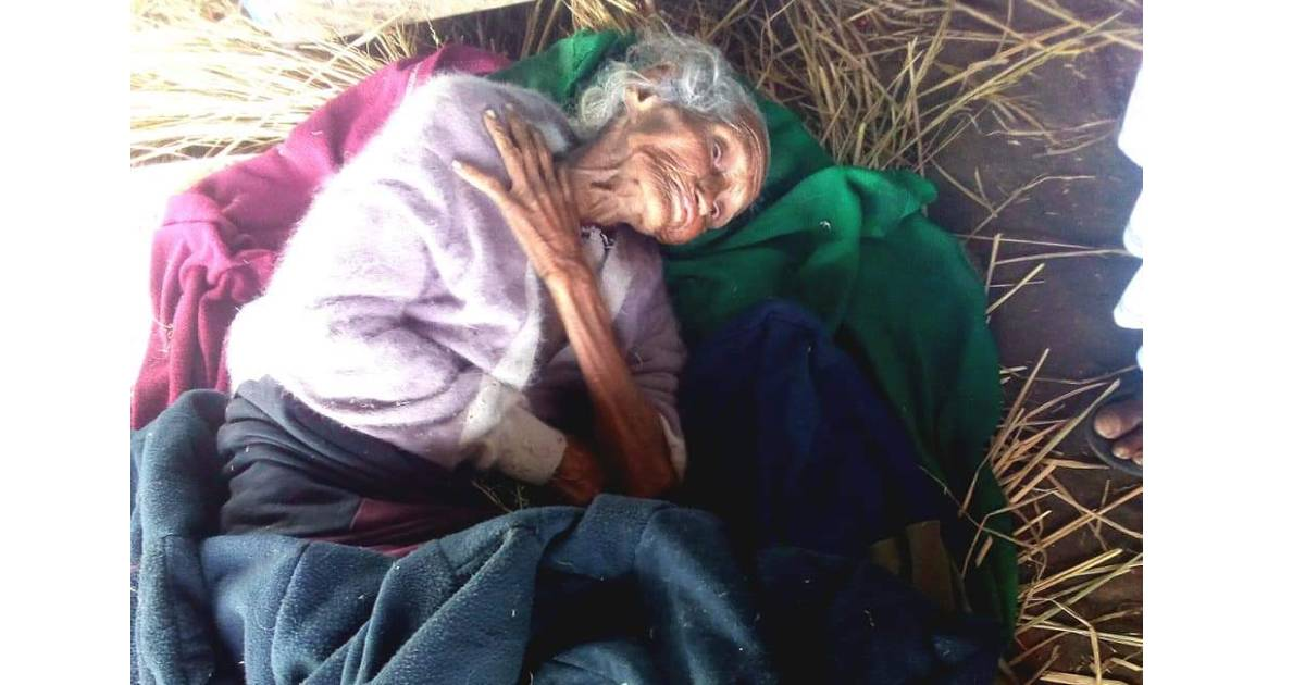Found alone at railway station, ailing elderly woman now recovering