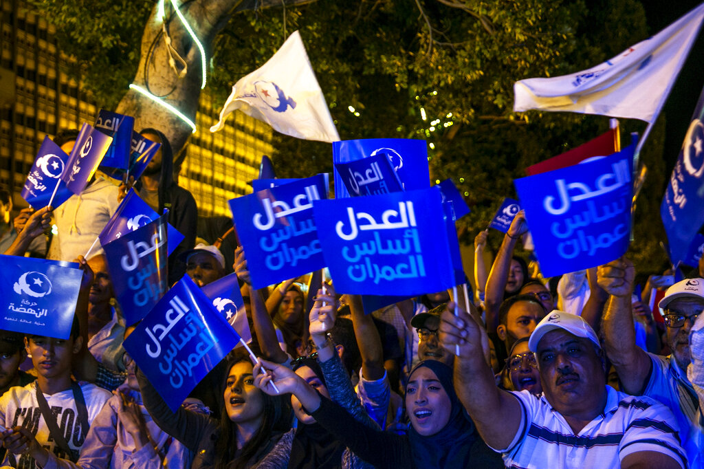 Islamists hope to stay on top as Tunisians choose parliament