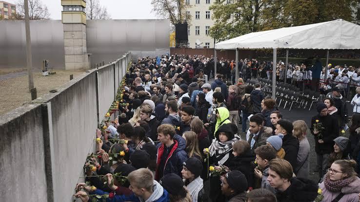 Germany ,  30 years since Berlin Wall fell