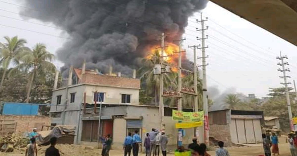 Keraniganj factory fire ,  dead ,  Fire