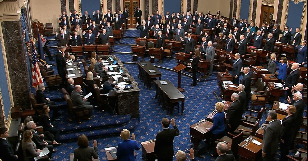 Trump's trial ,  election year ,  impeachment trial ,  impartial justice ,  U.S. Senate