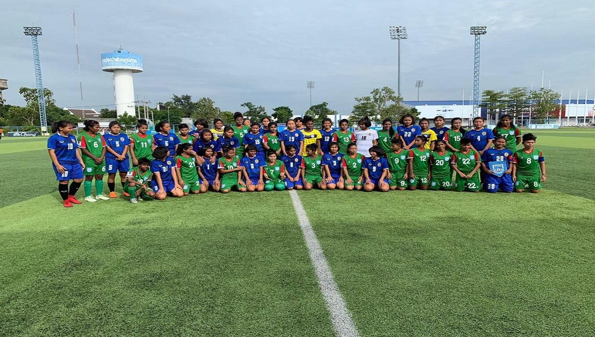 Bangladesh U-16 Women beat Chonburi FC