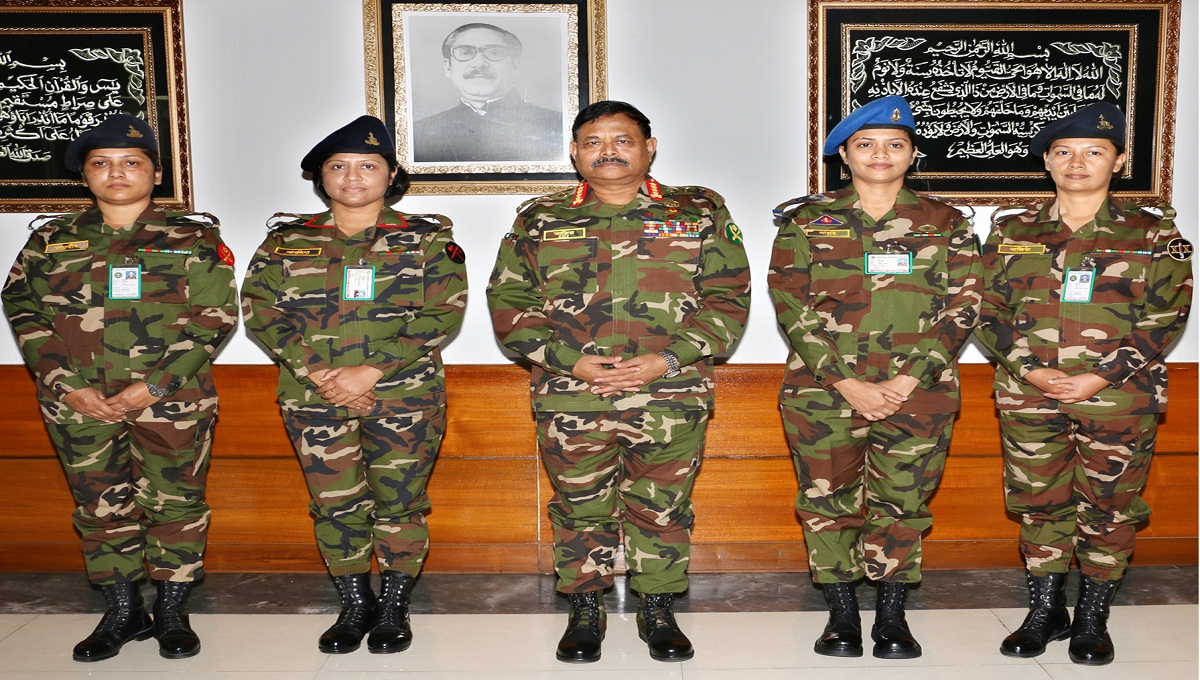 Four female Army officers made battalion COs for first time