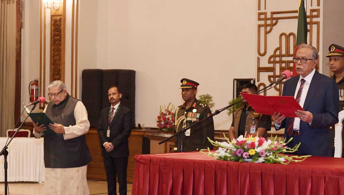 Imran, Indira take oath of office