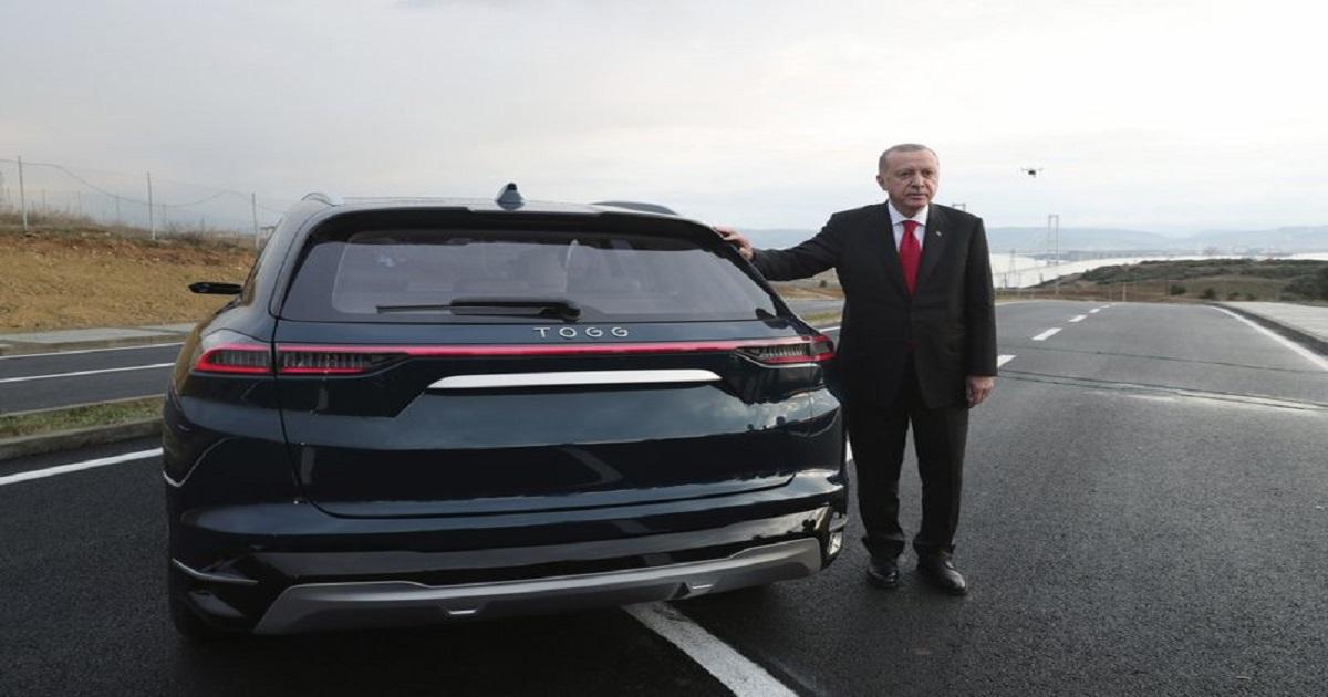 "national"" automobile. ,  electric car ,  Turkish President Recep Tayyip Erdogan ,  technews"