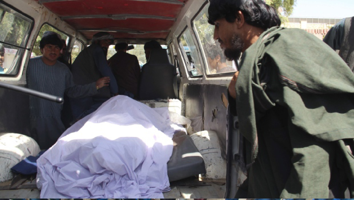 40 civilians killed in anti-Taliban raid
