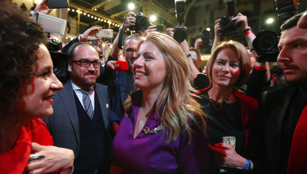 Liberal upstart Caputova elected 1st Slovak female president