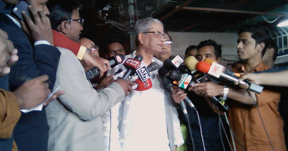 Khaleda needs to be released on humanitarian ground: Fakhrul