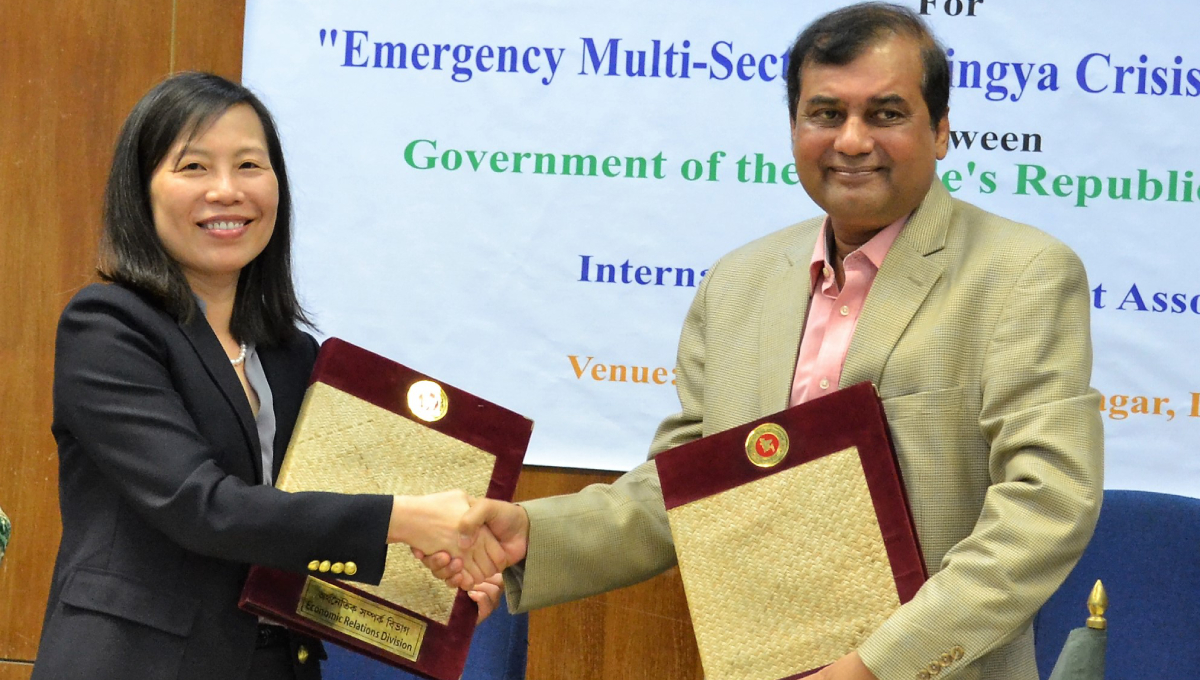 WB to provide $165mn to improve service delivery to Rohingya