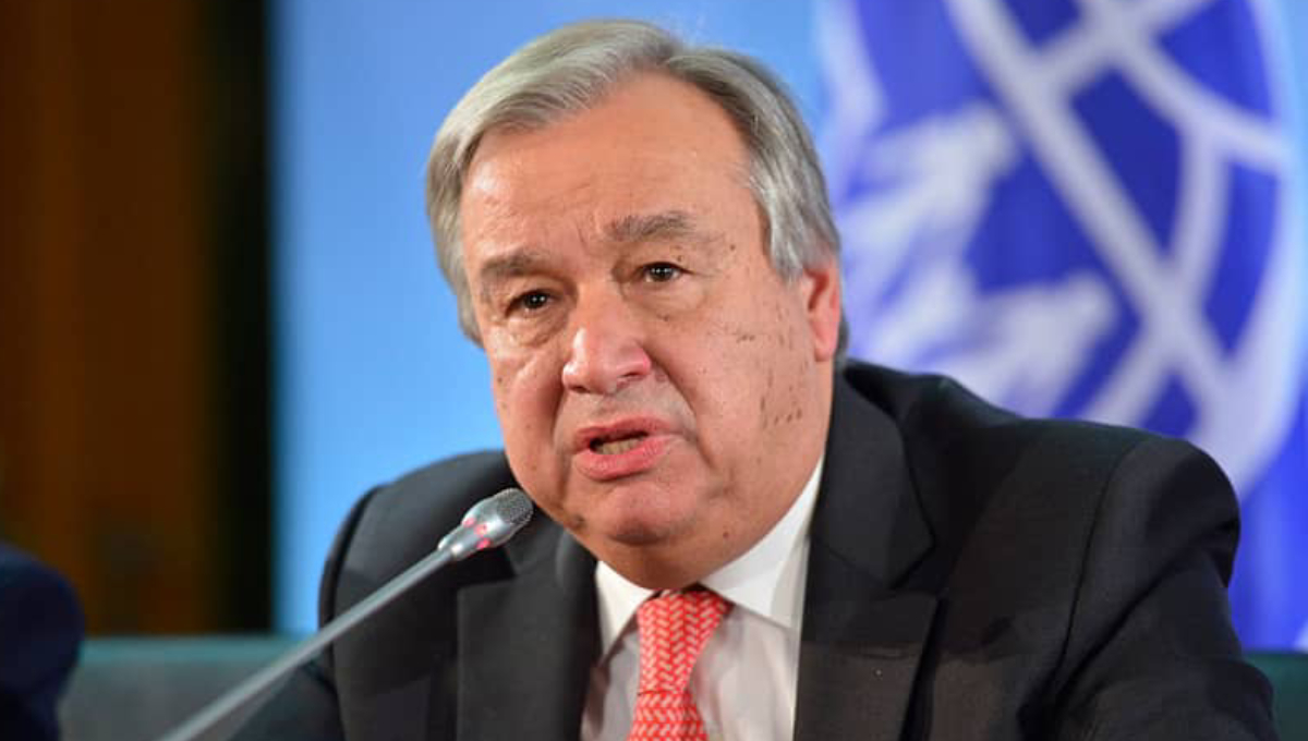 Let's stand up for human rights for everyone, everywhere: UN chief