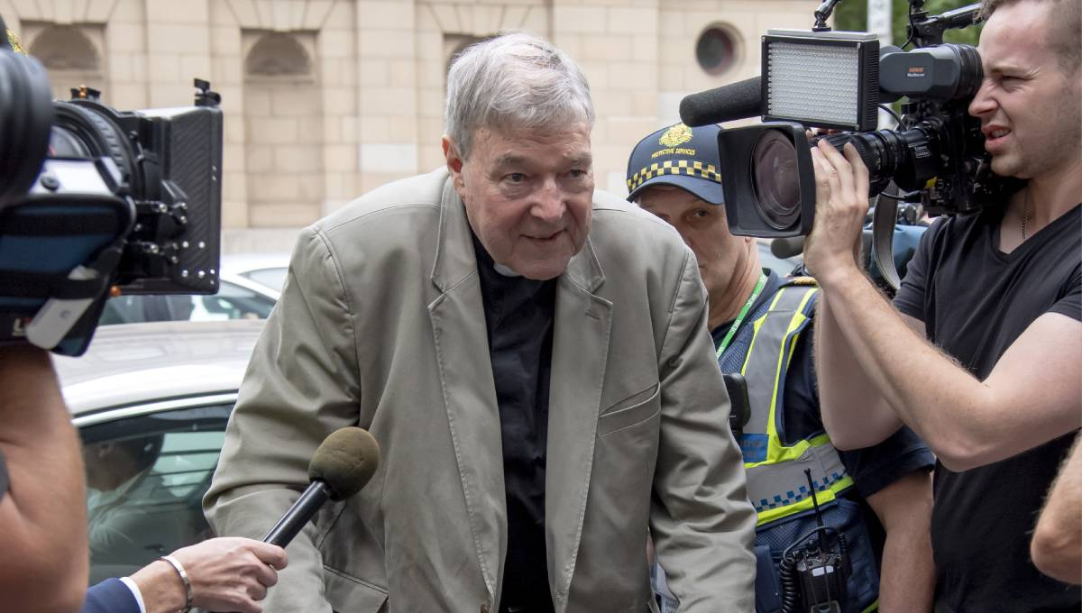 Cardinal's bail revoked after sexual abuse conviction — George Pell