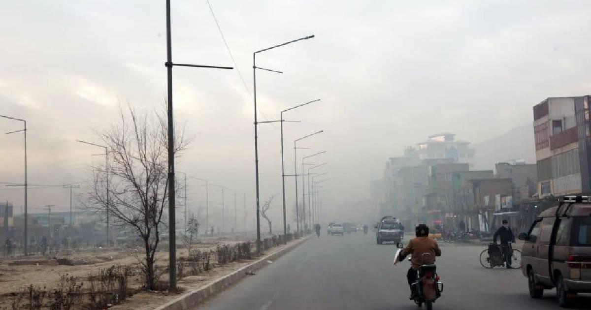 Air pollution ,  Kabul