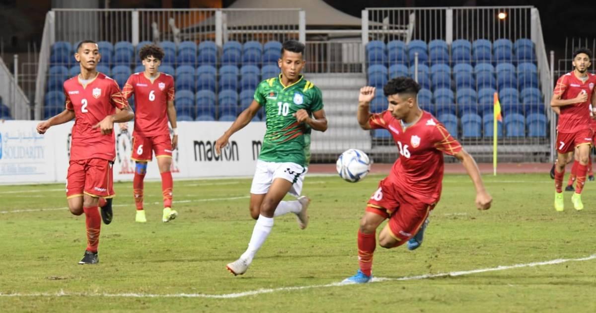 Football ,  AFC U-19 Qualifiers ,  Bahrain ,  Bangladesh