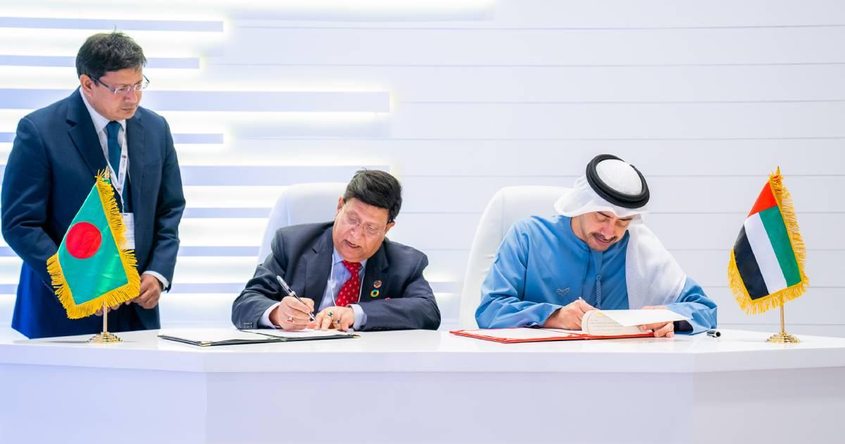 Foreign Affairs ,  UAE ,  United Arab Emirates ,  Foreign Minister Dr AK Abdul Momen ,  Sheikh Abdullah bin Zayed Al Nahyan ,  Abu Dhabi Sustainability Week
