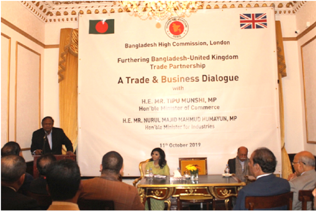Bangladesh wants to diversify, boost trade, investment with UK