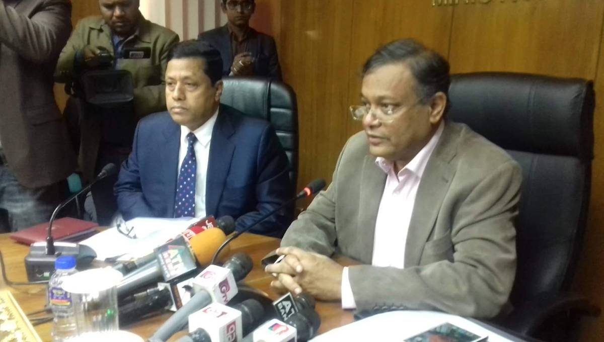 Info minister thanks Dr Kamal for realising his mistake