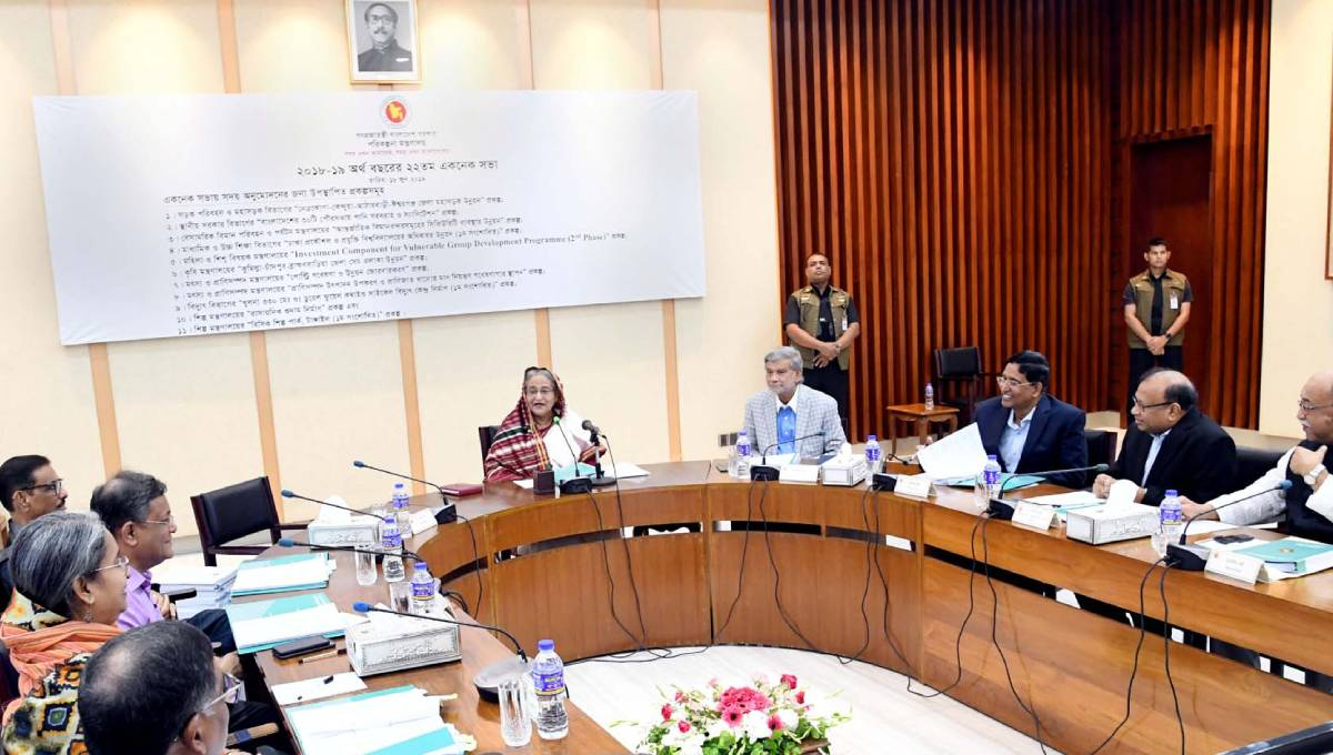 Ecnec approves 11 projects involving Tk 8,053 cr