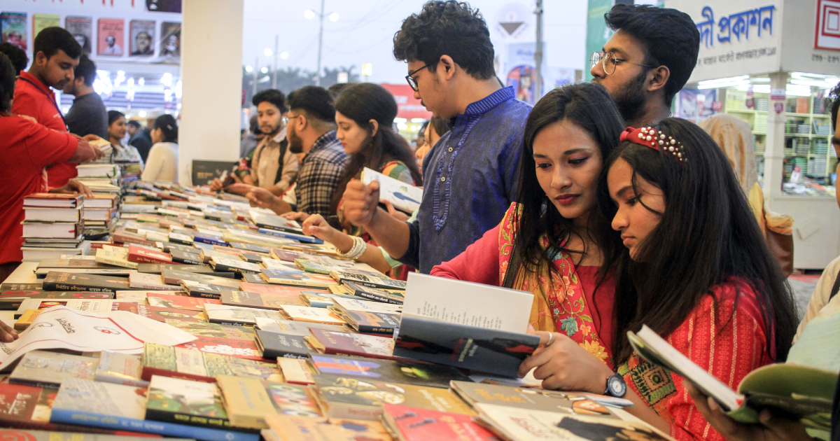 Book Fair brings better option for Valentine's Day revellers