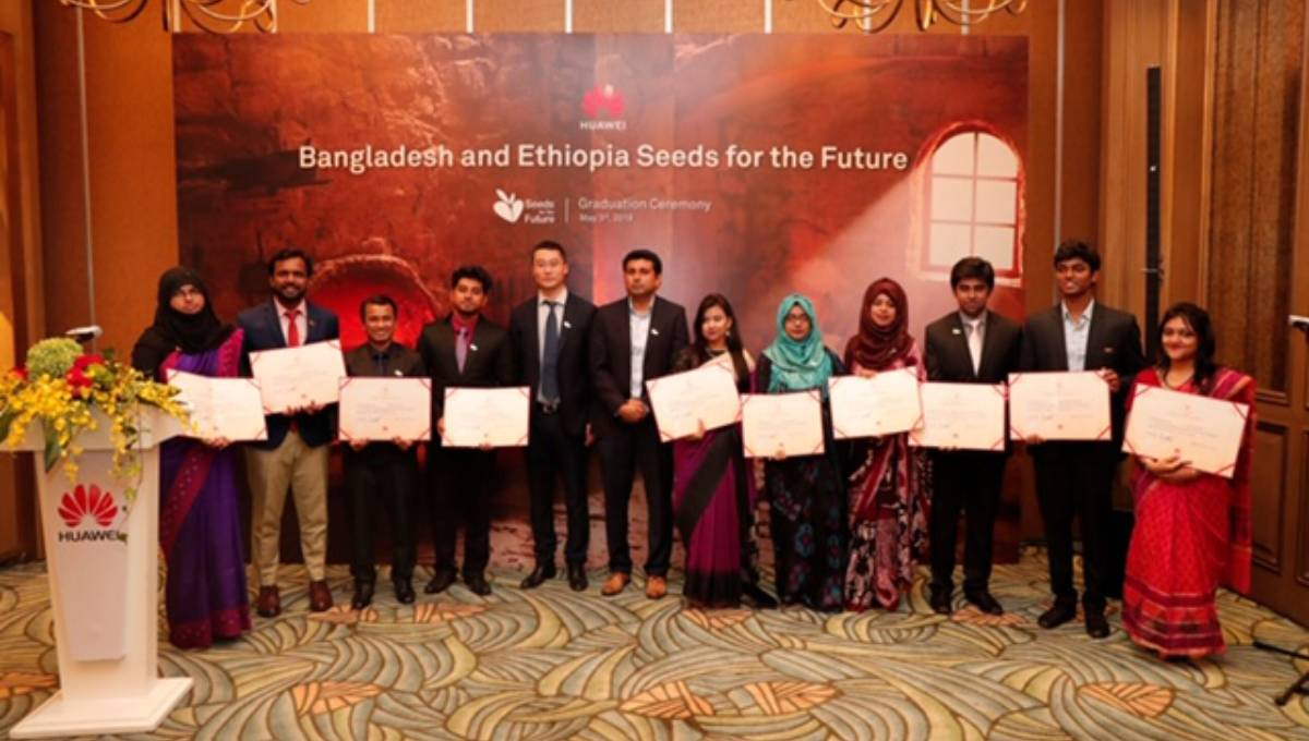 10 Bangladeshi talents receive training in China under Huawei's CSR prog