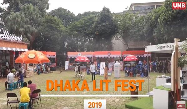 Versatile Musician Farzana Wahid Shayan at Dhaka Lit Fest