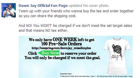 Dawn Jay-T shirts