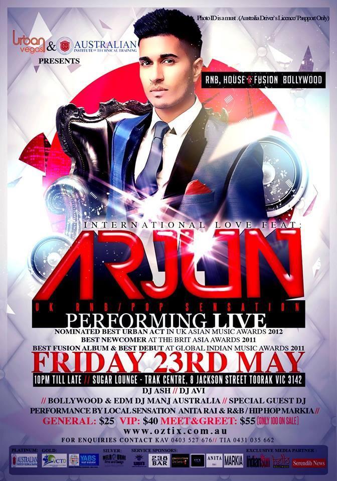arjun concert
