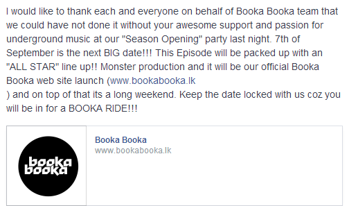 booka announcement