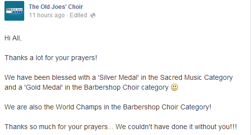 the old joes choir 2