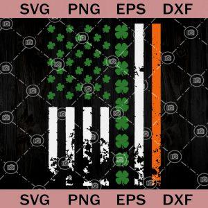 America flag st patricks day svg usa irish flag shamrock svg irish day svg