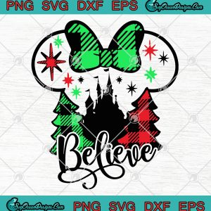 Belive disney christmas png svg eps dxf vector cricut file svg belive christmas svg png