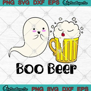Boo Ghost Beer Drinker Funny Halloween Drinking SVG PNG EPS DXF - Boo Beer Halloween Cricut File Silhouette Art, svg cricut, silhouette svg files, cricut svg, silhouette svg, svg designs, vinyl svg