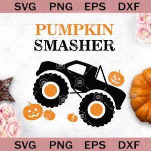 Boy halloween svg pumpkin monster truck svg pumpkin smasher svg boy halloween svg eps dxf png