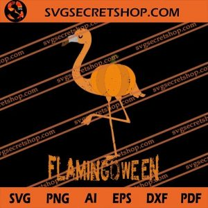 Flamingoween SVG, Flamingo SVG, Animal SVG, Halloween SVG, svg cricut, silhouette svg files, cricut svg, silhouette svg, svg designs, vinyl svg