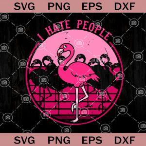 I hate people svg flamingo svg fa la la la mingo svg christmas svg